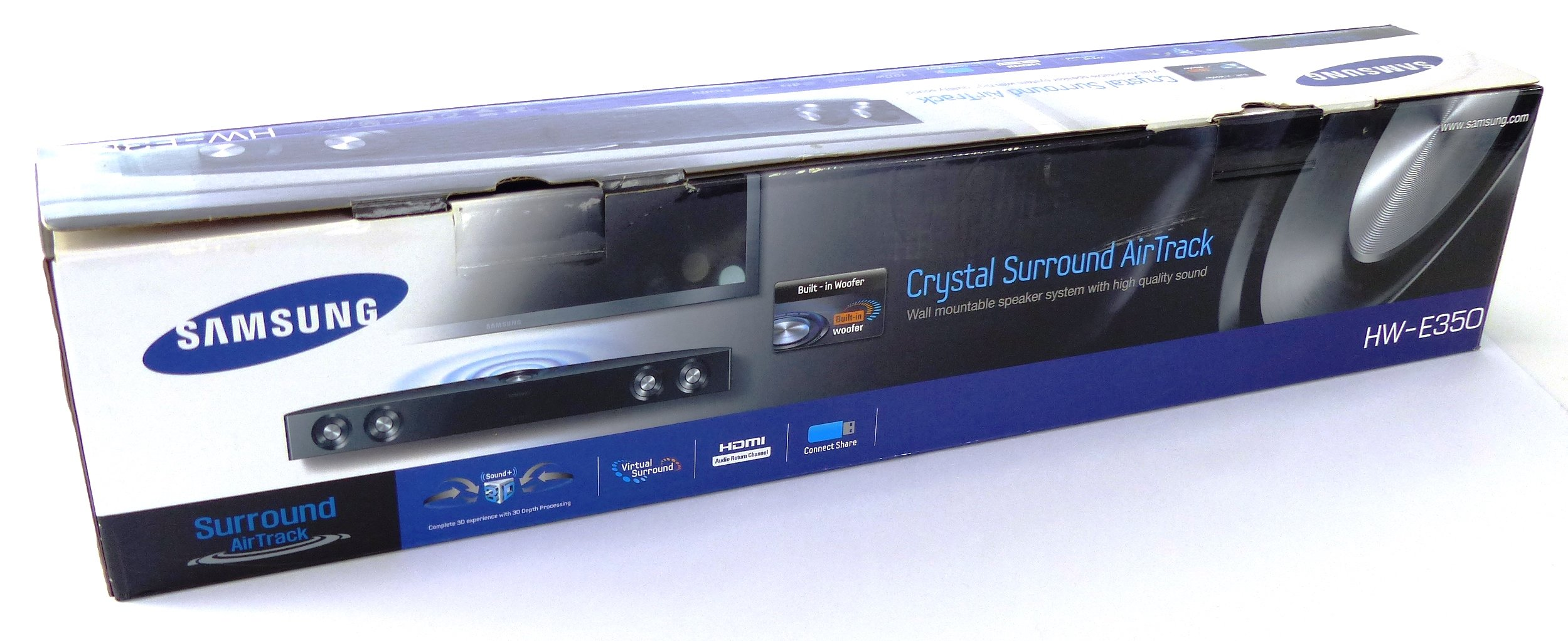 how to connect samsung crystal surround air track