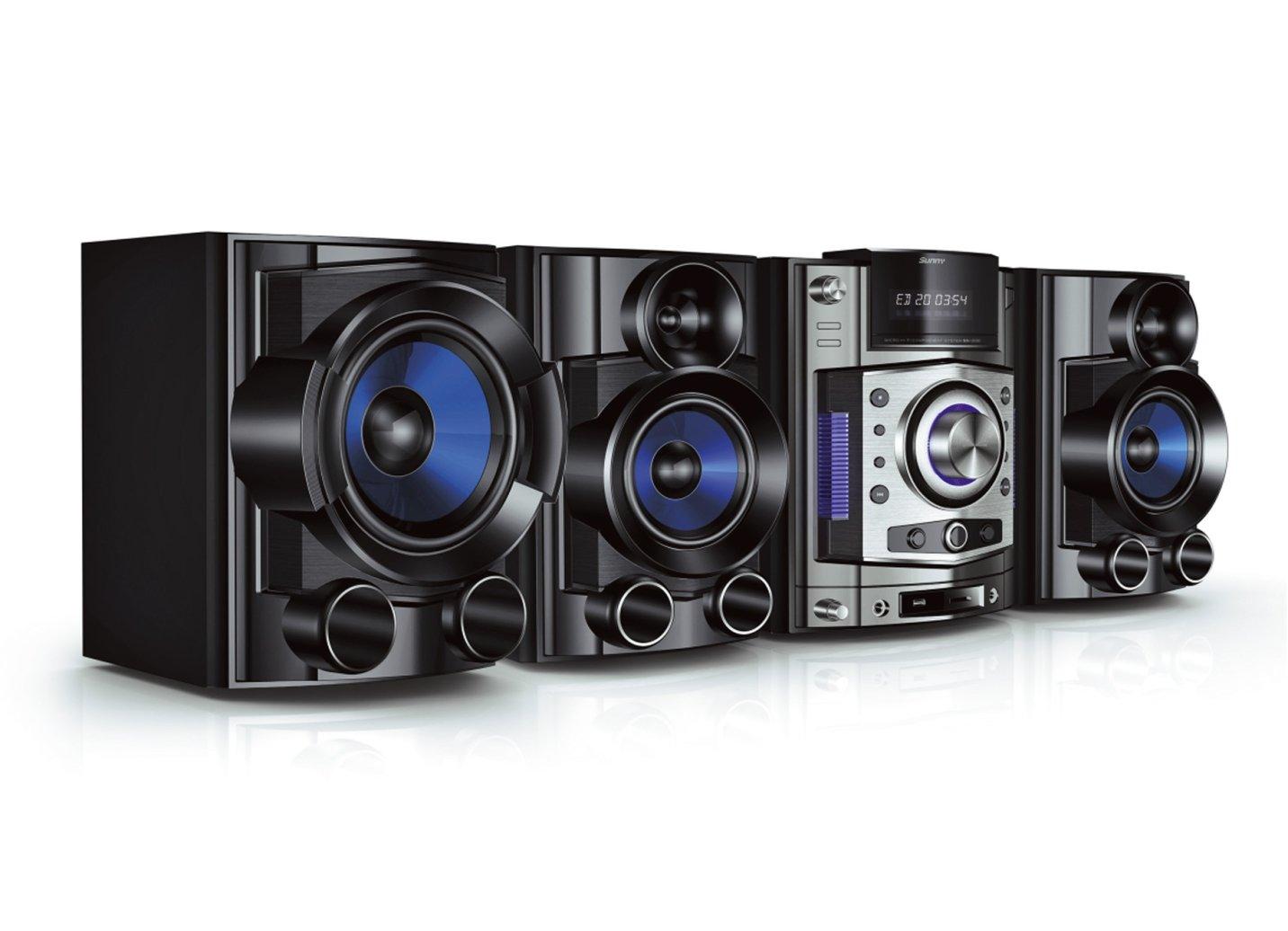 hifi system stereoanlage 400w cd dvd mp3 musikanlage hifi radio audio ds ebay. Black Bedroom Furniture Sets. Home Design Ideas