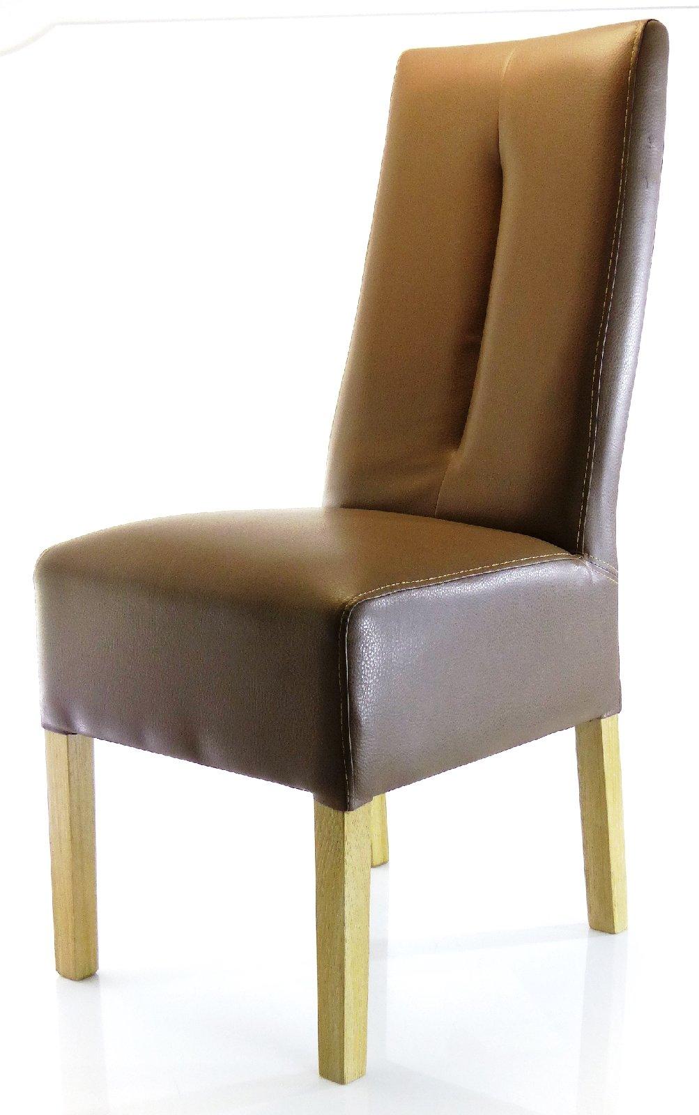 2er set polsterstuhl esszimmerstuhl fanny kunstlederstuhl esszimmer stuhl st hle ebay. Black Bedroom Furniture Sets. Home Design Ideas