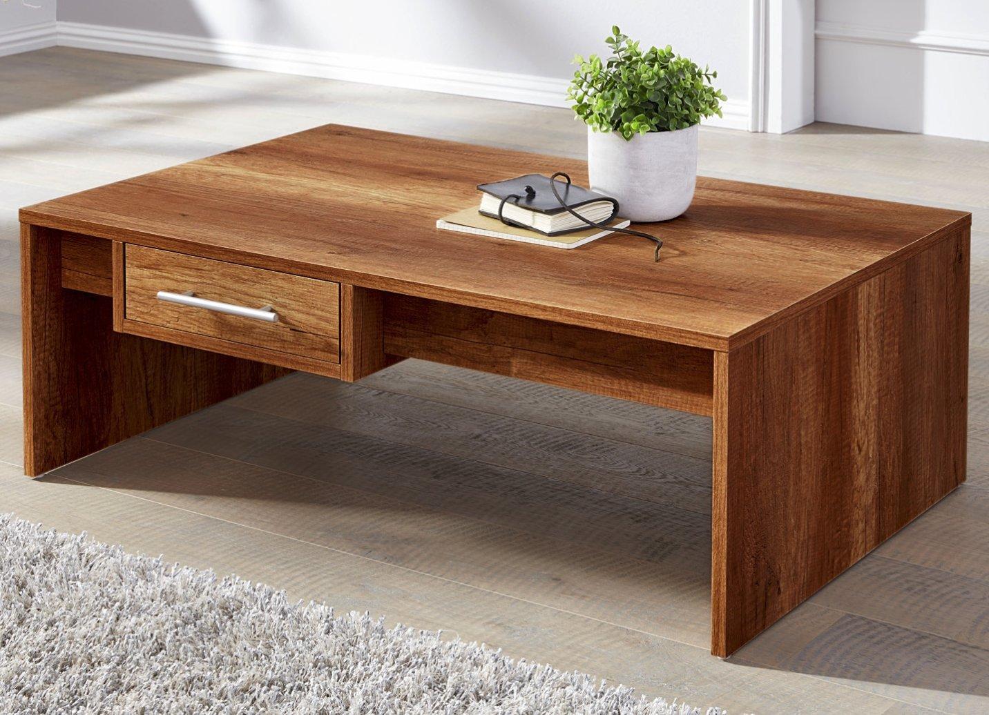 couchtisch nussbaum beistelltisch wohnzimmertisch 108x68x35 tisch. Black Bedroom Furniture Sets. Home Design Ideas