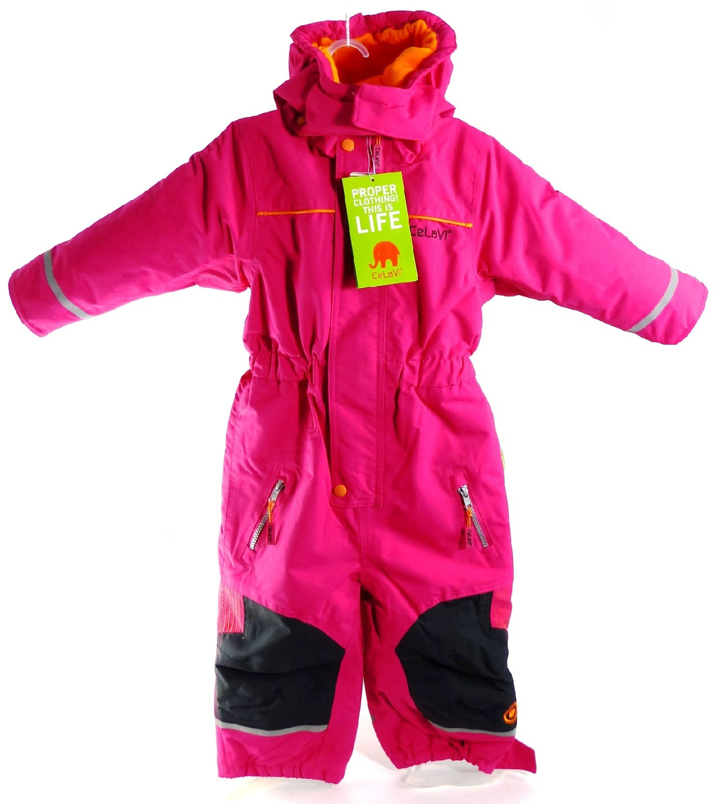 celavi schneeanzug skioverall anzug overall kids gr 92 m dchen winter pink 1124 ebay. Black Bedroom Furniture Sets. Home Design Ideas
