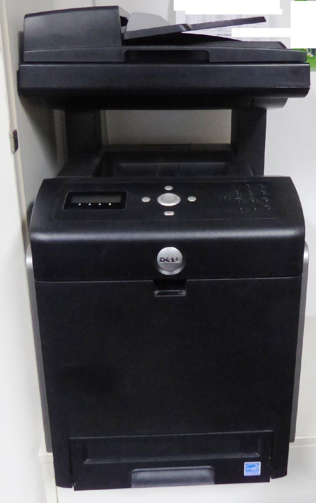 dell farblaserdrucker mfp 3115cn laserdrucker multifunktionsdrucker scanner. Black Bedroom Furniture Sets. Home Design Ideas