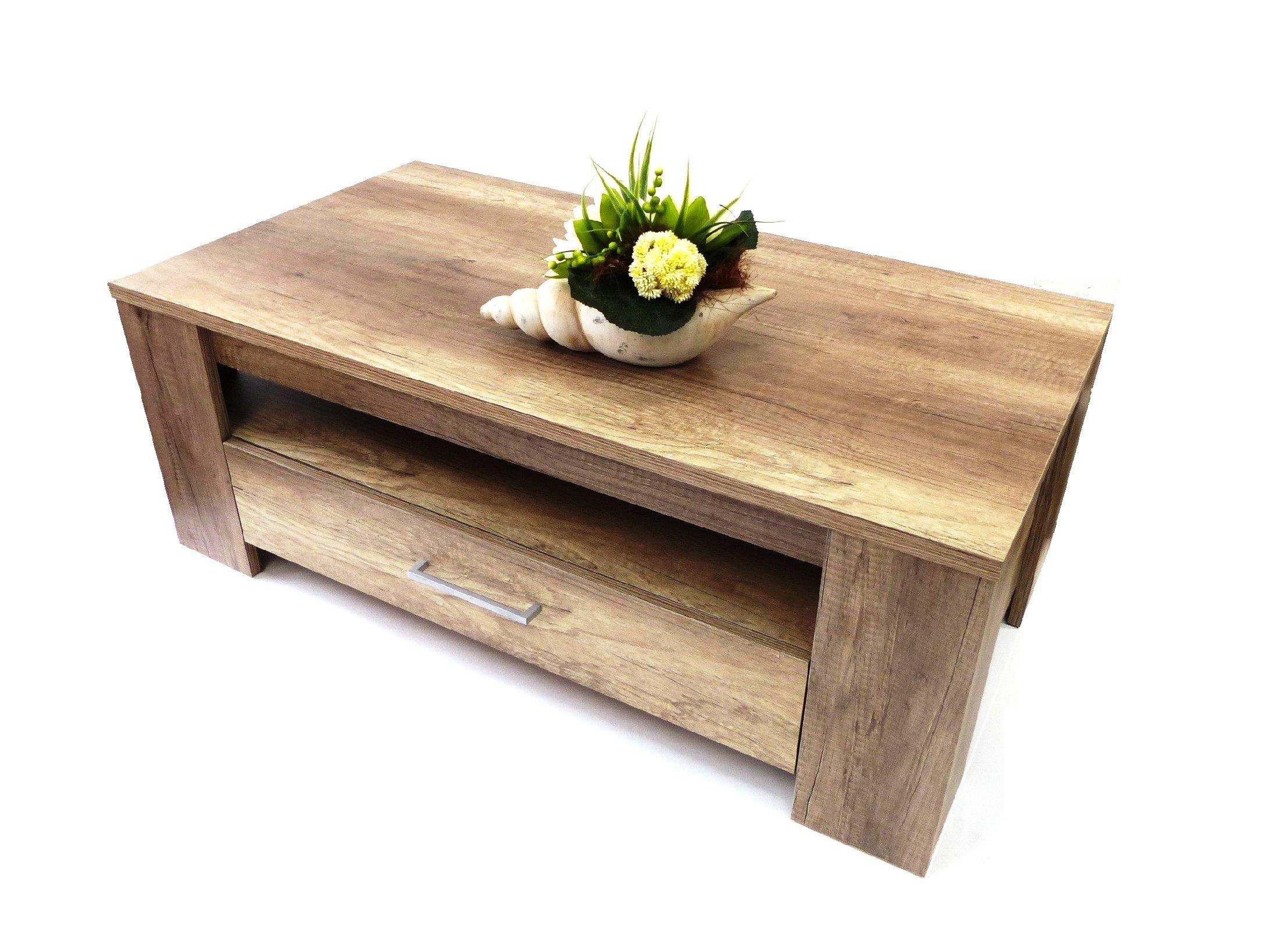 couchtisch mona lisa 5 wohnzimmertisch tisch wohnzimmer couch sonoma eiche 11572 ebay. Black Bedroom Furniture Sets. Home Design Ideas
