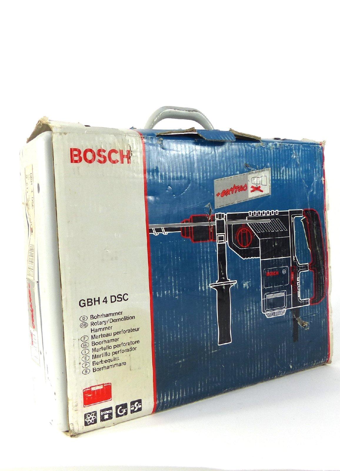 bosch bohrhammer mei elhammer gbh 4 dsc bohrmaschine elektrowerkzeug 750w ebay. Black Bedroom Furniture Sets. Home Design Ideas