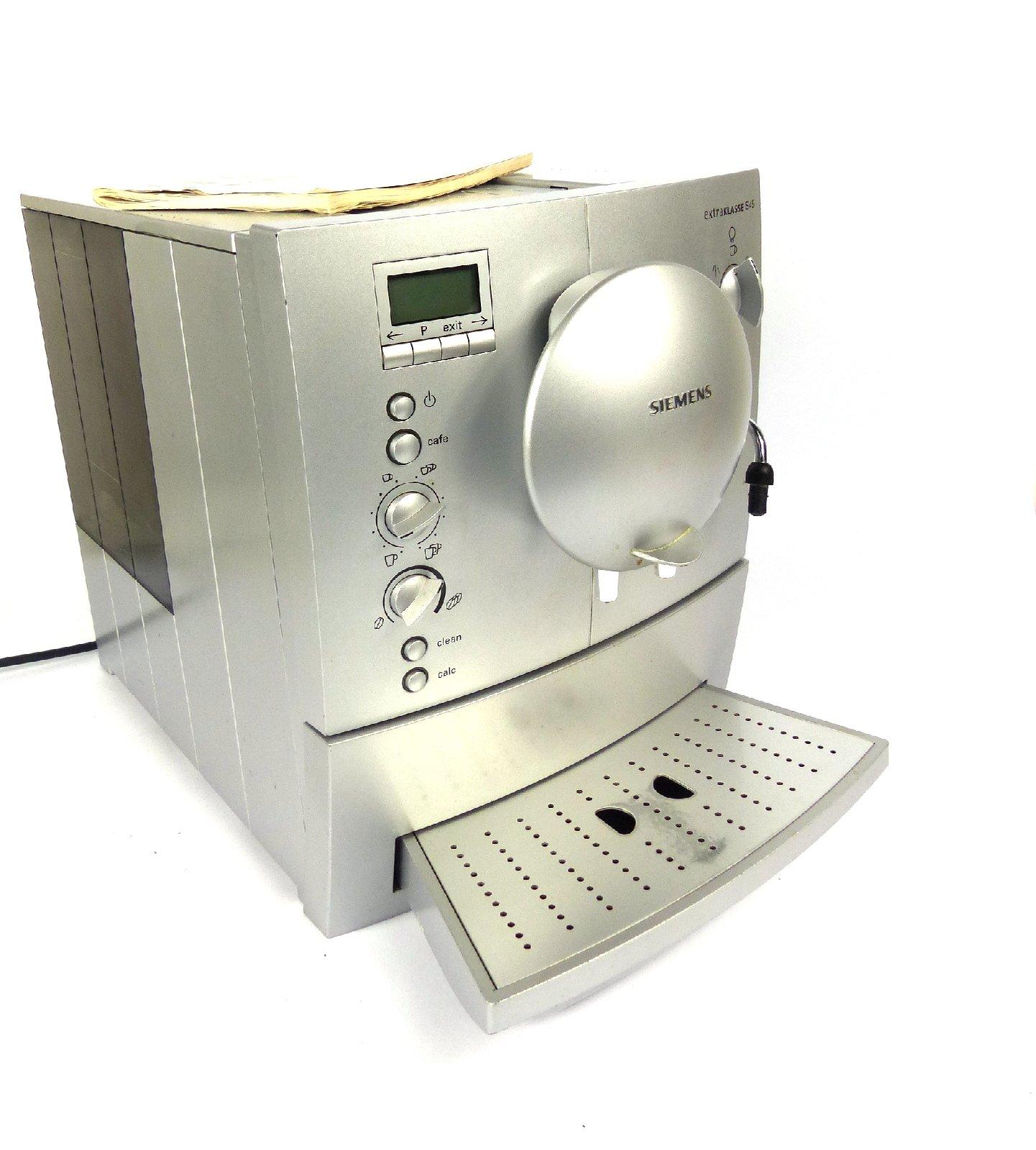 Siemens Kaffeeautomat Extra Klasse S45 Vollautomat