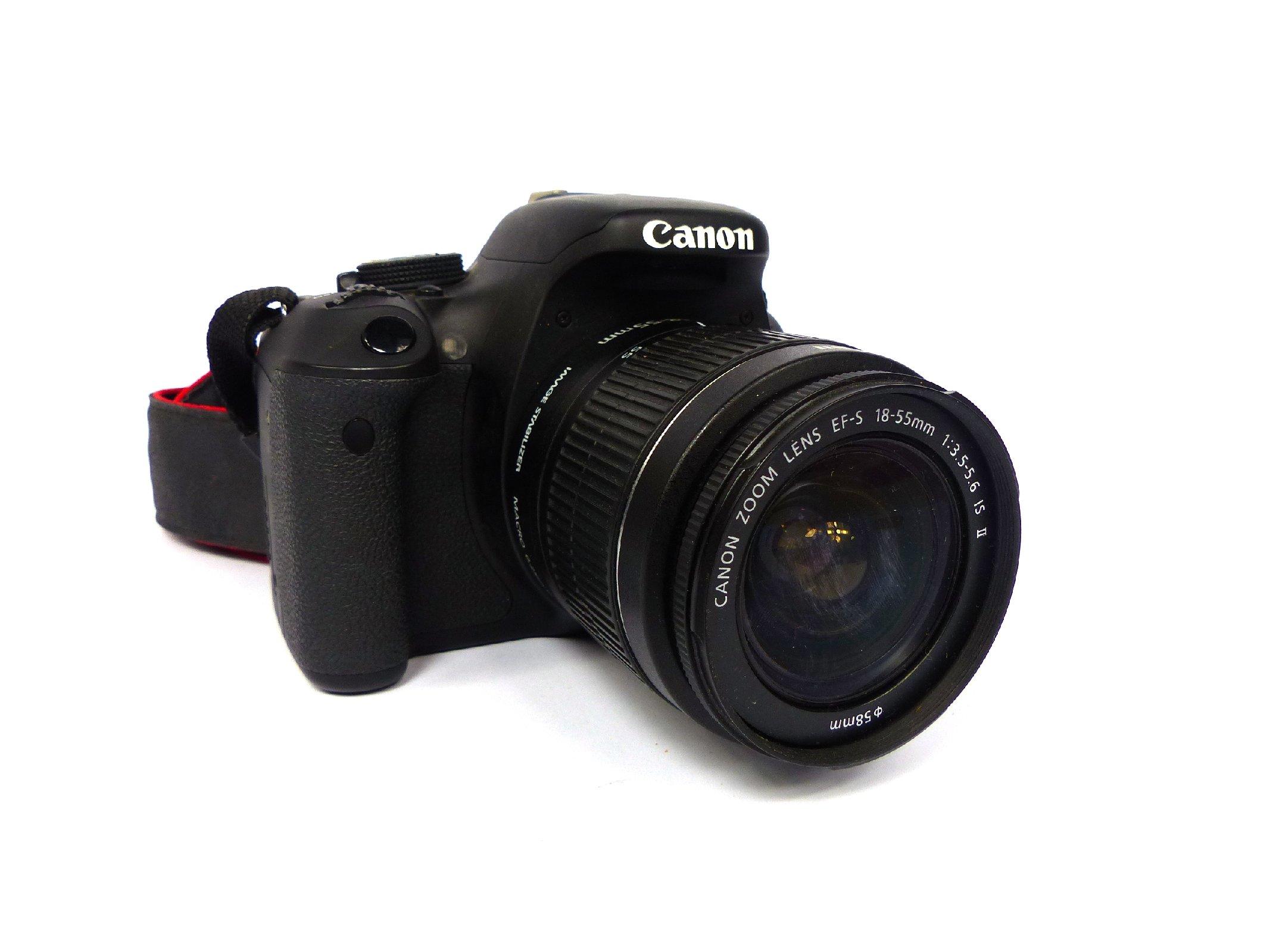 Canon eos 600d spiegelreflexkamera spiegelreflex kamara 18 for Housse canon eos 600d