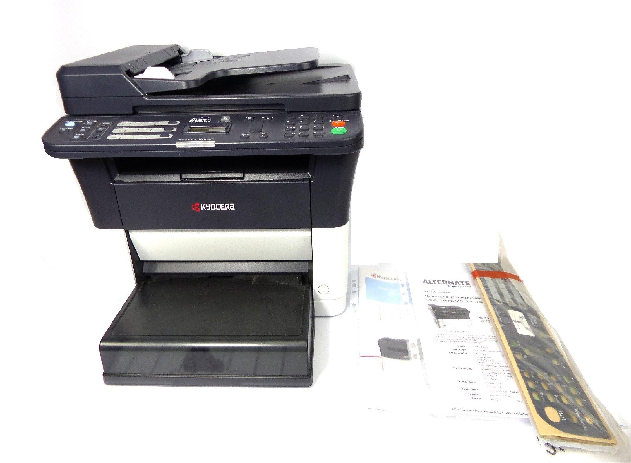 laserdrucker kyocera fs 1320mfp multifunktionsdrucker. Black Bedroom Furniture Sets. Home Design Ideas