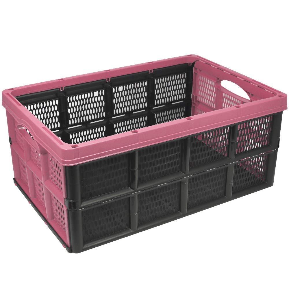 Klappbox 32L Transportbox Einkaufsbox Einkaufskorb Aufbewahrung