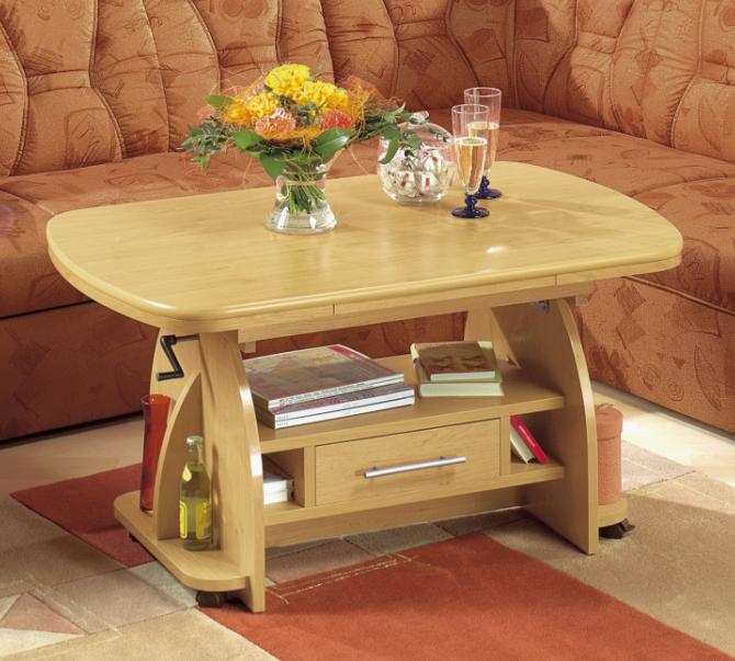 couchtisch holz h henverstellbar ausziehbar farben. Black Bedroom Furniture Sets. Home Design Ideas