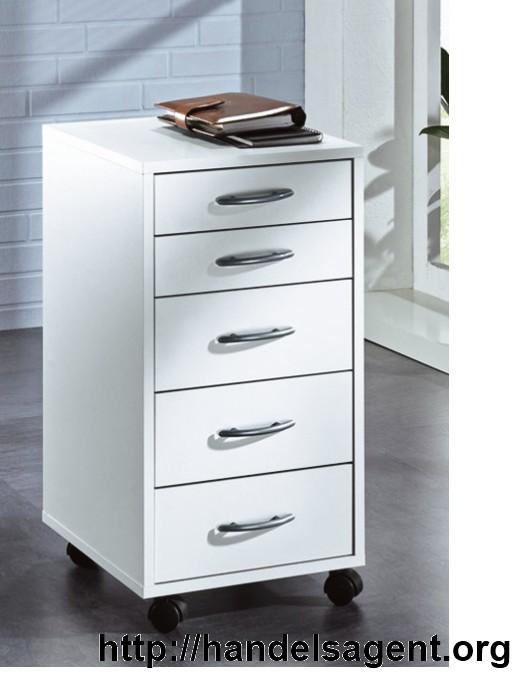 rollcontainer buche b rom bel rollwagen b roschrank aufbewahrung ablage schrank ebay. Black Bedroom Furniture Sets. Home Design Ideas