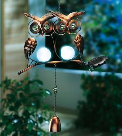 Solarleuchte eule lampe licht beleuchtung gartendeko for Gartendeko licht