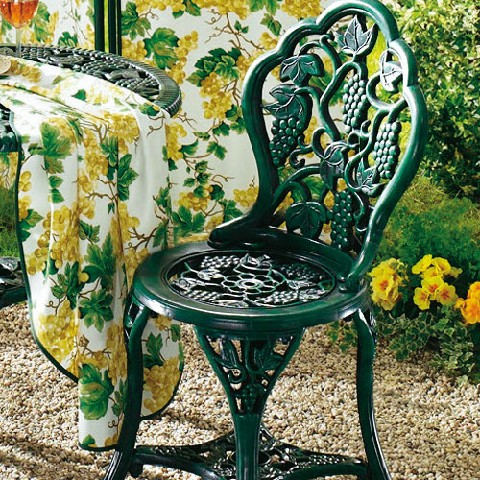 Tisch gruppe gr n rund gartentisch st hle stuhl rundtisch for Stuhl deko garten