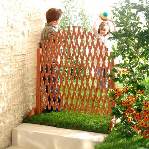 Spalier gartenzaun holzzaun zaun schutzgitter raumteiler pflanzengitter ebay - Flexibler gartenzaun ...
