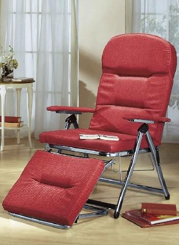 relaxsessel rot liege klappfunktion sitzm bel stuhl. Black Bedroom Furniture Sets. Home Design Ideas