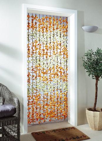 t rvorhang blumen bl tenvorhang bl ttervorhang vorhang t rdekoration stoffblume ebay. Black Bedroom Furniture Sets. Home Design Ideas