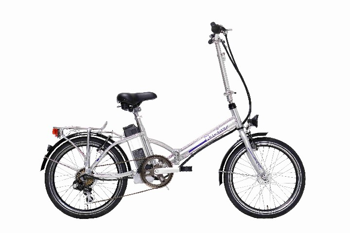 e bike faltrad 20 zoll elektro fahrrad pedelec 6 gang klapprad karcher 280347. Black Bedroom Furniture Sets. Home Design Ideas