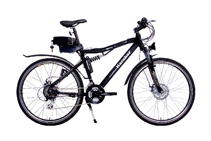 e bike 26 zoll elektro fahrrad pedelec atb fully alu 24. Black Bedroom Furniture Sets. Home Design Ideas