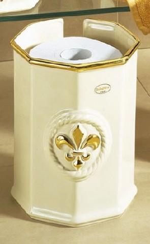 toilettenpapierbeh lter klopapierhalter badezimmer beh lter box keramik ebay. Black Bedroom Furniture Sets. Home Design Ideas