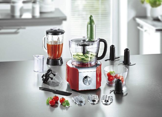 Mixer & zerkleinerer  RTC Küchenmaschine Set Mixer Kneten Hobel zerkleinerer ...