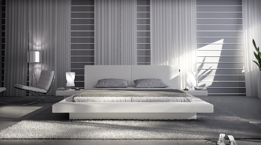neu polsterbett 200x200 cm pearl weiss kunstleder bett. Black Bedroom Furniture Sets. Home Design Ideas