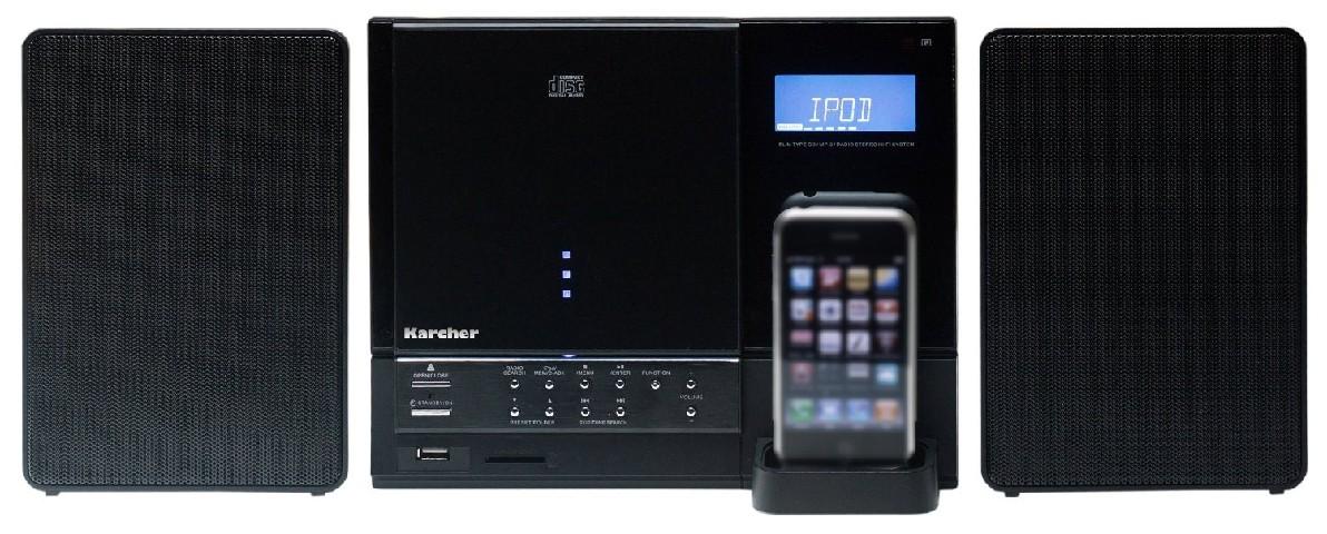 karcher mc 6555i musik center vertikal stero anlage cd. Black Bedroom Furniture Sets. Home Design Ideas