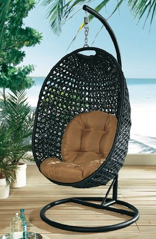 h ngesessel relaxsessel h ngeschaukel sessel relax garten m bel h ngekorb ebay. Black Bedroom Furniture Sets. Home Design Ideas
