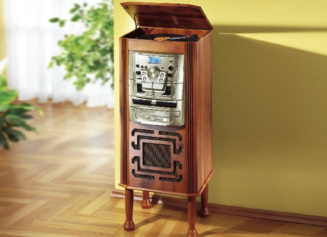 6 in 1 hifi turm musikanlage stereoanlage cd player. Black Bedroom Furniture Sets. Home Design Ideas