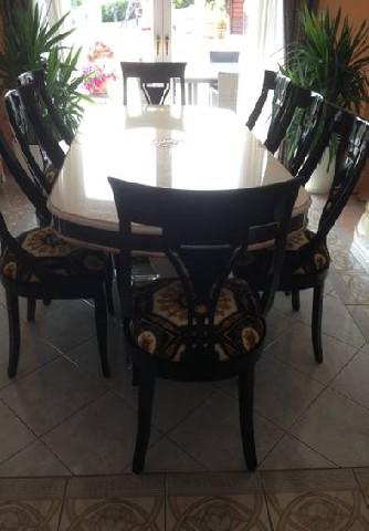 versace tisch