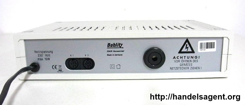 Alarmanlage Bublitz B3 kabellos Ultraschall einfache