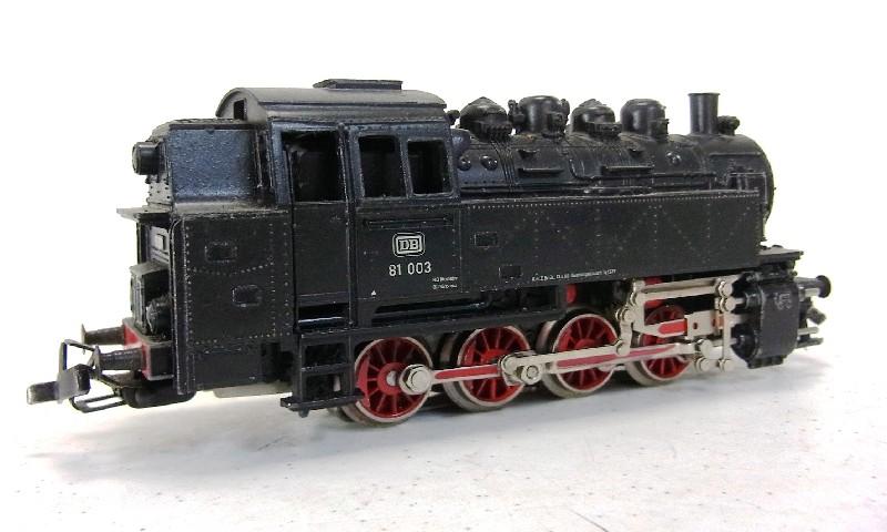 m rklin dampflok db 81003 lokomotive lok schwarz analog. Black Bedroom Furniture Sets. Home Design Ideas