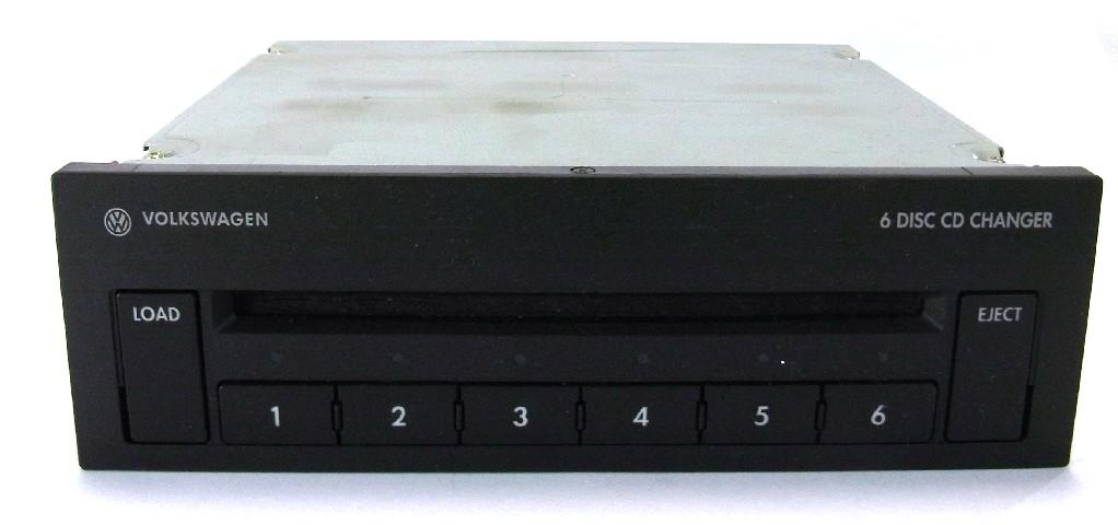 volkswagen golf iv autoradio gamma bda cd wechsler 6fach. Black Bedroom Furniture Sets. Home Design Ideas