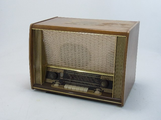 philips union phonosuper r hrenradio holzgeh use radio mit plattenspieler ebay. Black Bedroom Furniture Sets. Home Design Ideas