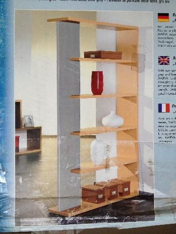 raumteiler marva b cherregal freistehend regal. Black Bedroom Furniture Sets. Home Design Ideas
