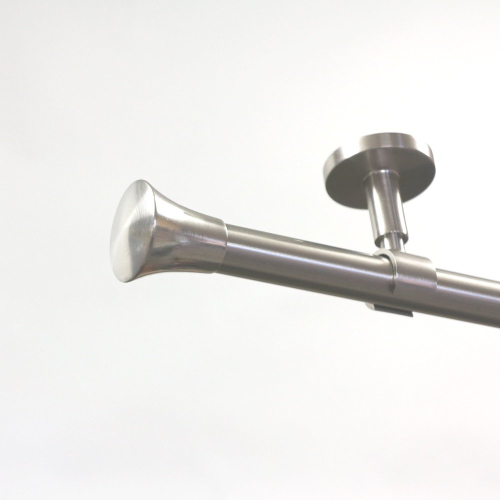 gardinenstange 20 mm endst ck knauf aus metall im. Black Bedroom Furniture Sets. Home Design Ideas