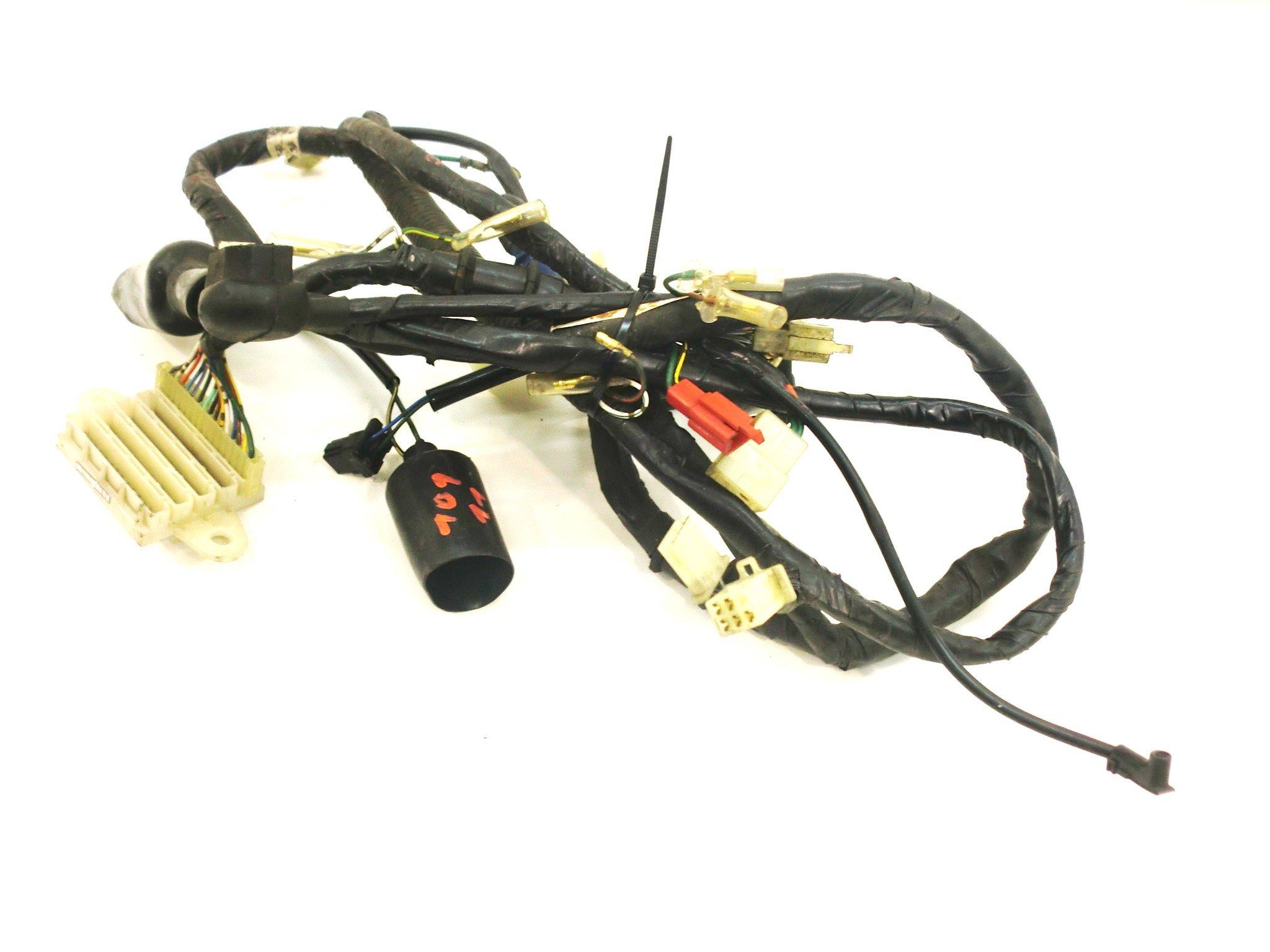 Honda Spacy 125 (JF03) Kabelbaum Kabelstecker Kabel Stecker 101_11 ...