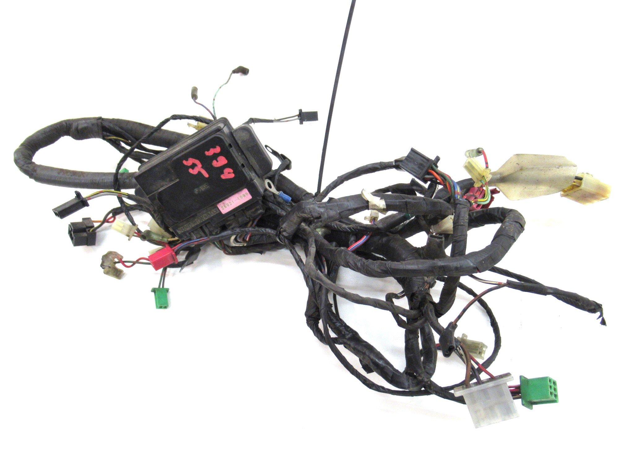 Kawasaki ZZR 600 E Kabelbaum Kabelstecker Kabel Stecker 394_55 | eBay