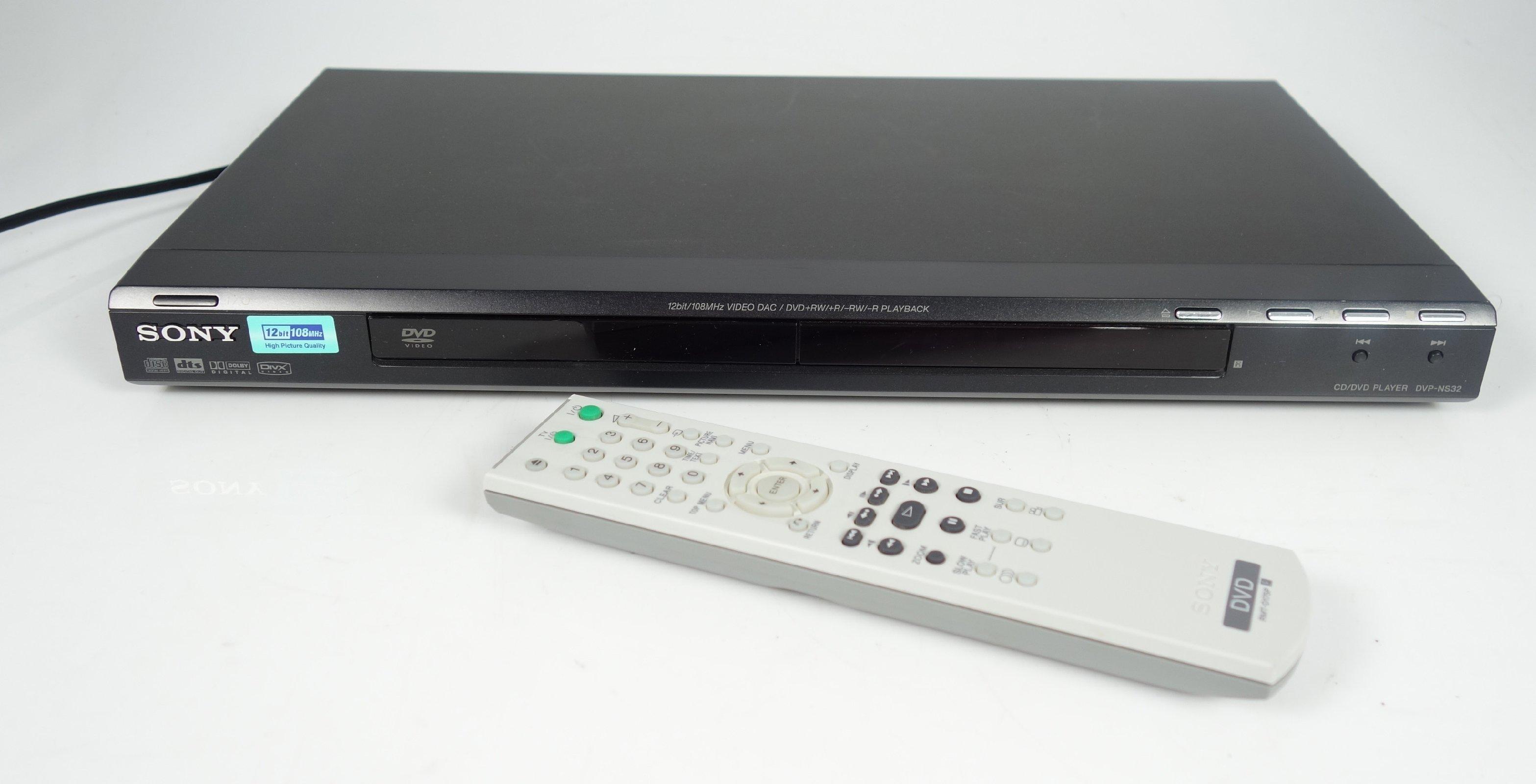 sony dvp ns32 dvd player cd player fernbedienung ebay. Black Bedroom Furniture Sets. Home Design Ideas