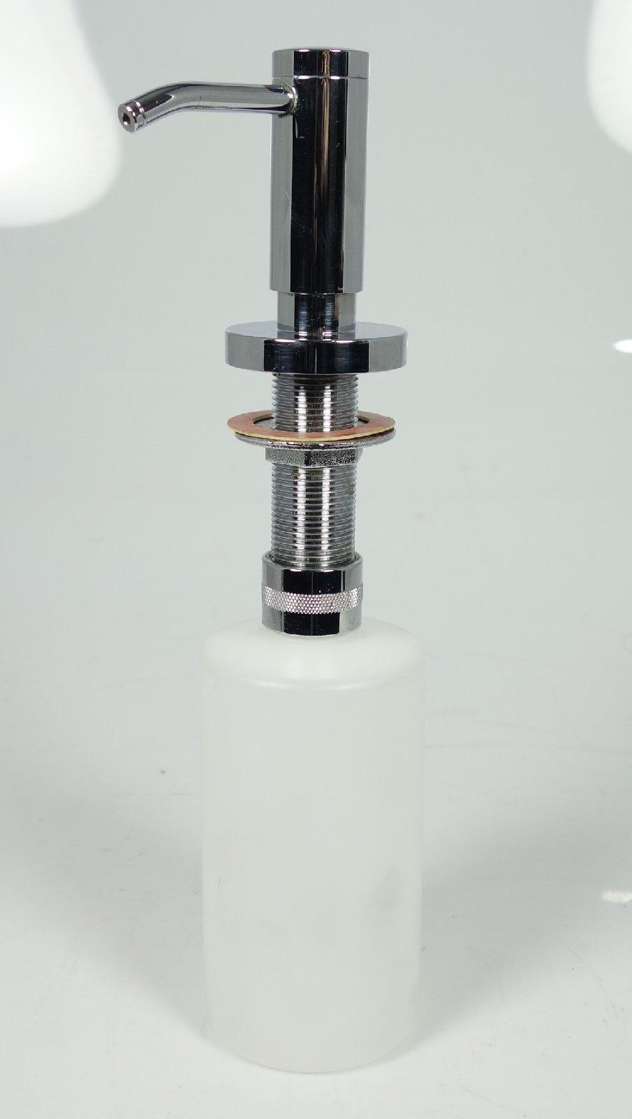 keuco seifenspender lotionspender f r einbau in waschtisch. Black Bedroom Furniture Sets. Home Design Ideas